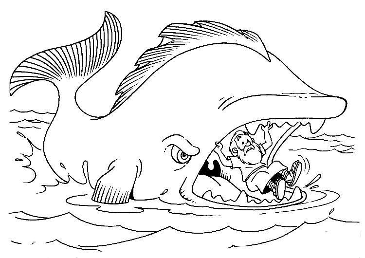 jonas e a baleia para colorir - Pesquisa Google | AT - biblische ...