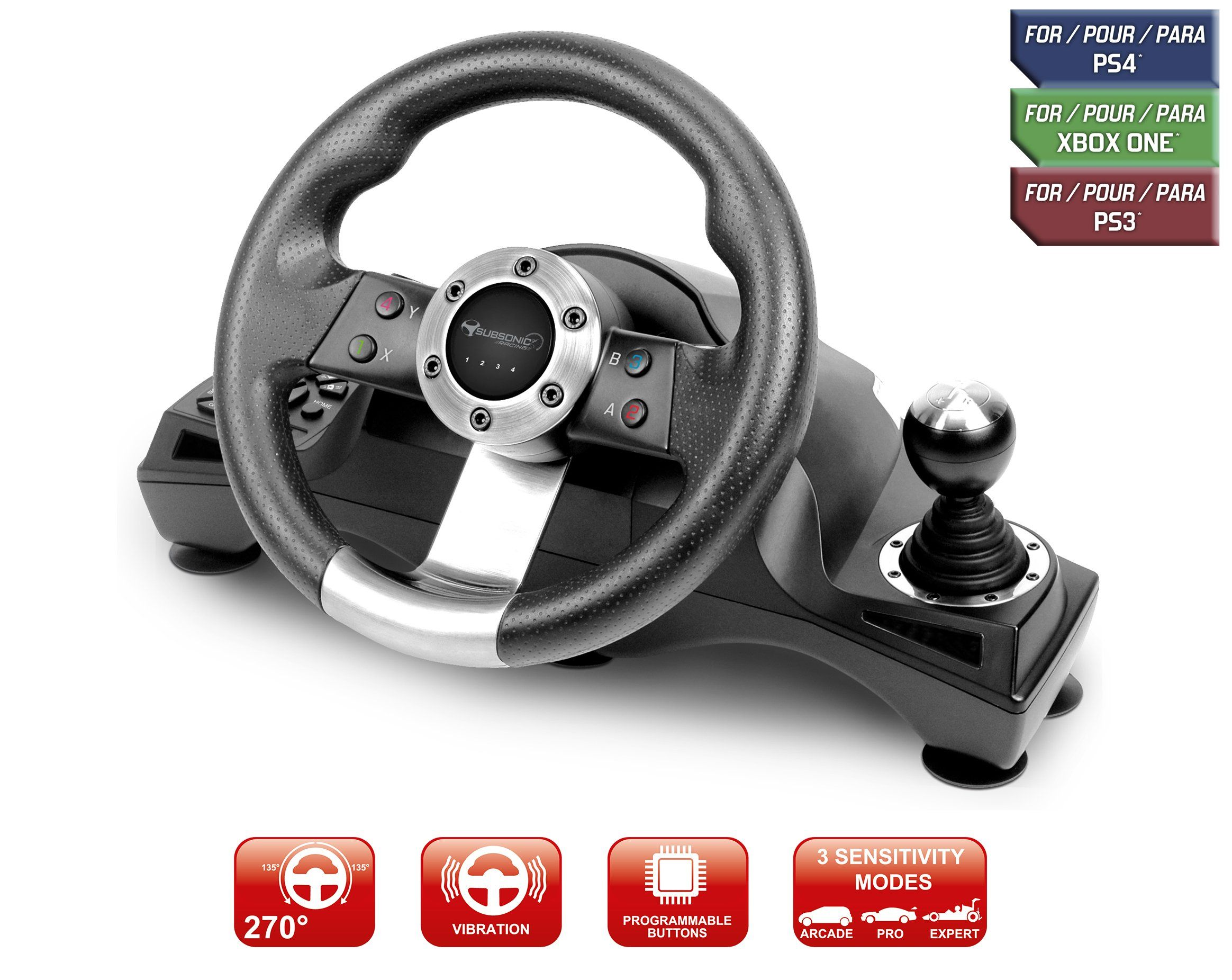 Subsonic SA5156 Drive Pro Sport racing wheel for