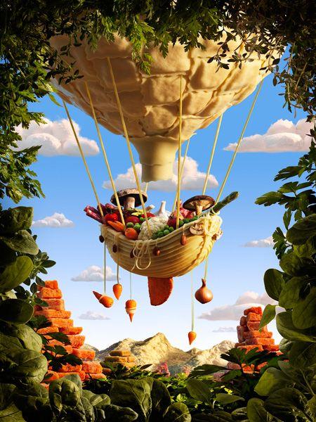 Gondola by Carl Warner, www.carlwarner.com