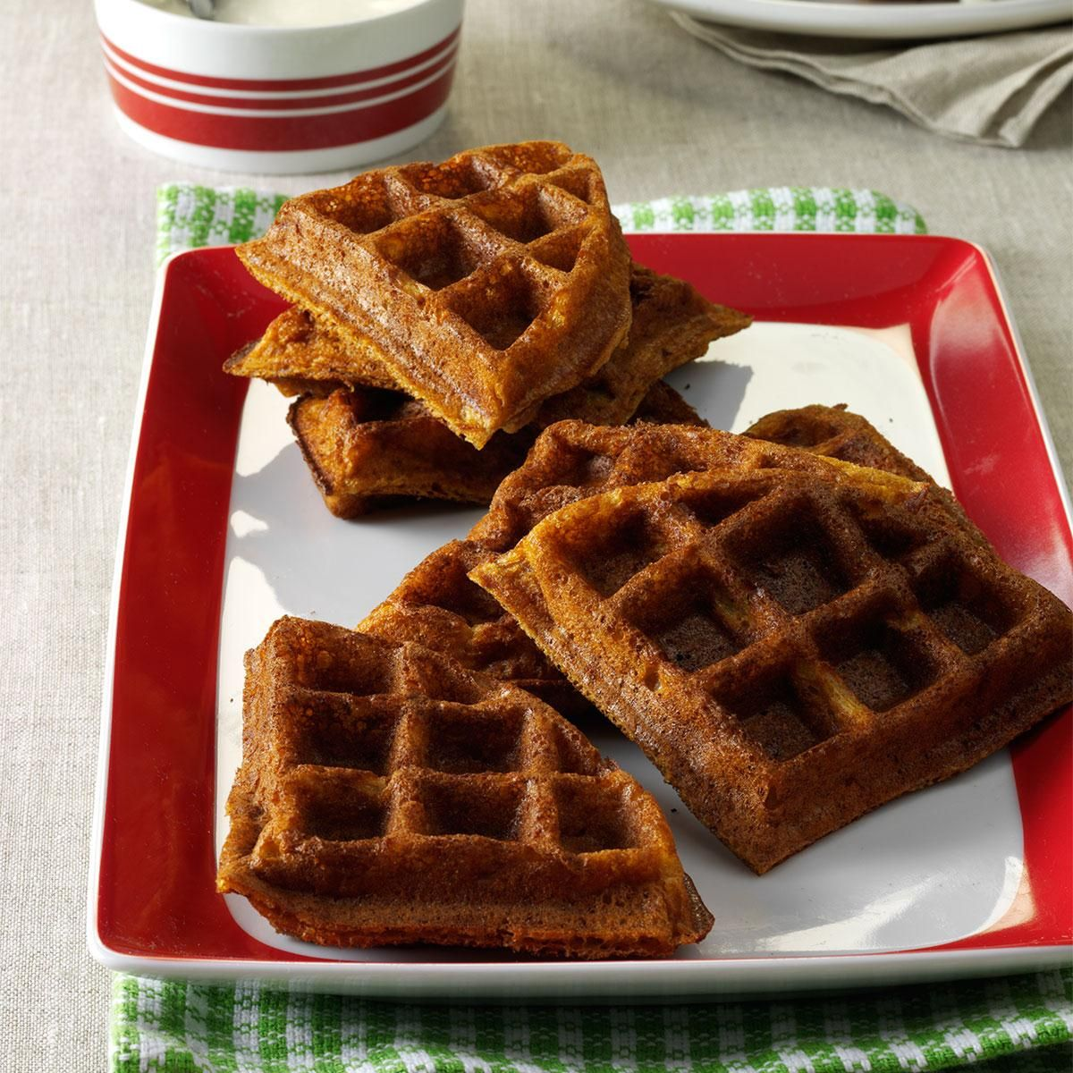 Gingerbread Belgian Waffles Recipe (With images