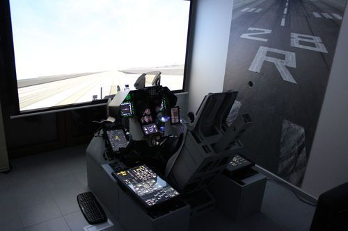 F-16 simulator FOR SALE! | Aircraft | Flight simulator cockpit