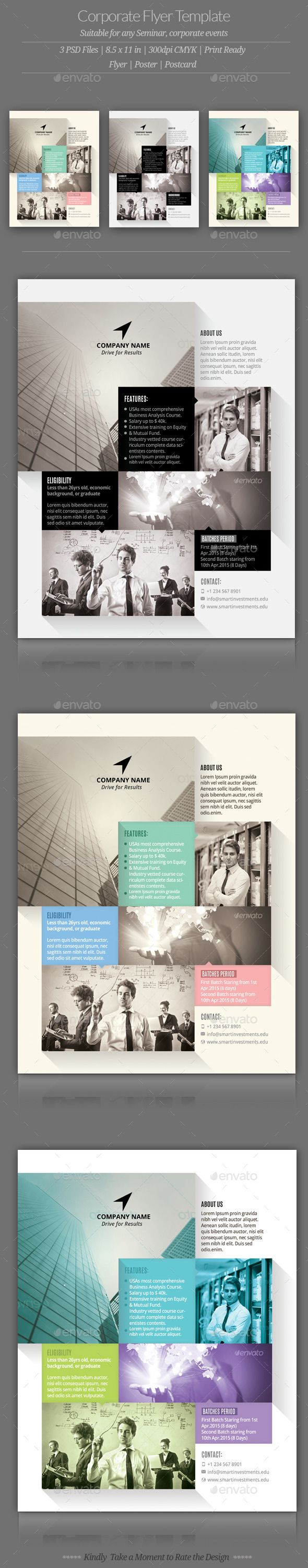 corporate flyer templates technology marketing and advertising corporate flyer templates cs3 8 5x11 advertisement advertising business clean