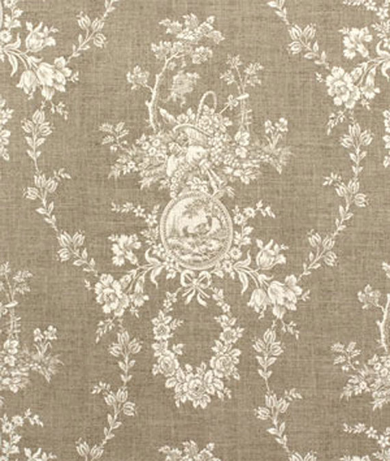 Waverly Country House Linen Cameo Toile Home Decorating