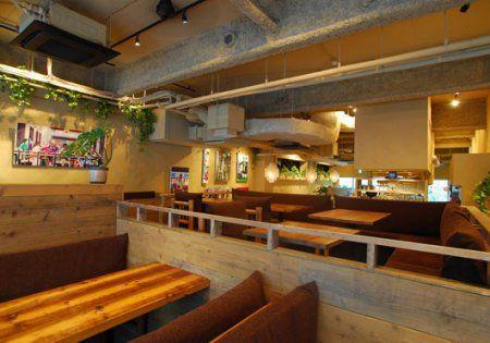 minimalist cafe interior with japanese style - manduka cafe | café
