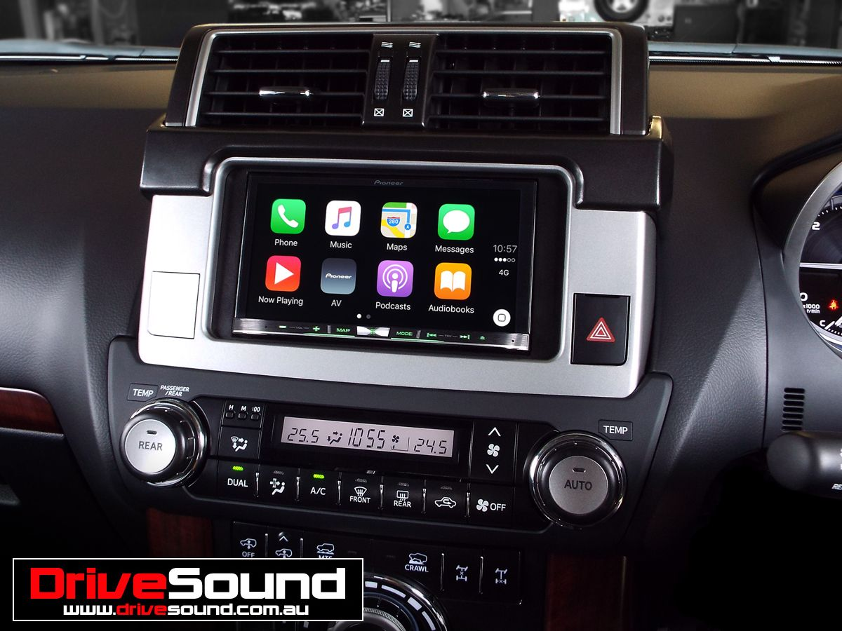 Toyota Prado Kakadu with Apple CarPlay installed by