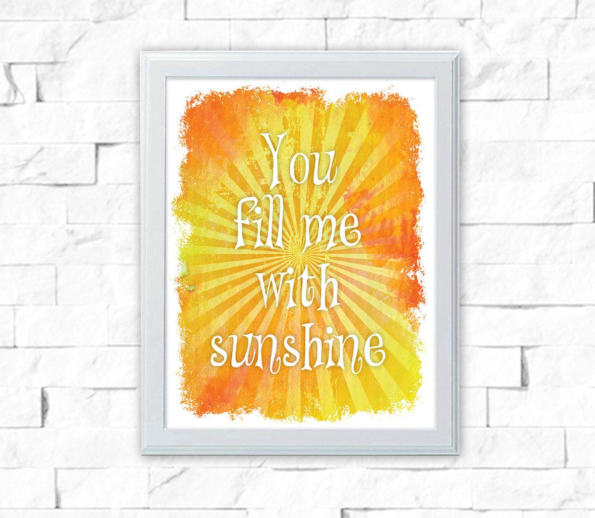 Printable Art - 8x10 Print - Printable Quote - Instant Download Art ...