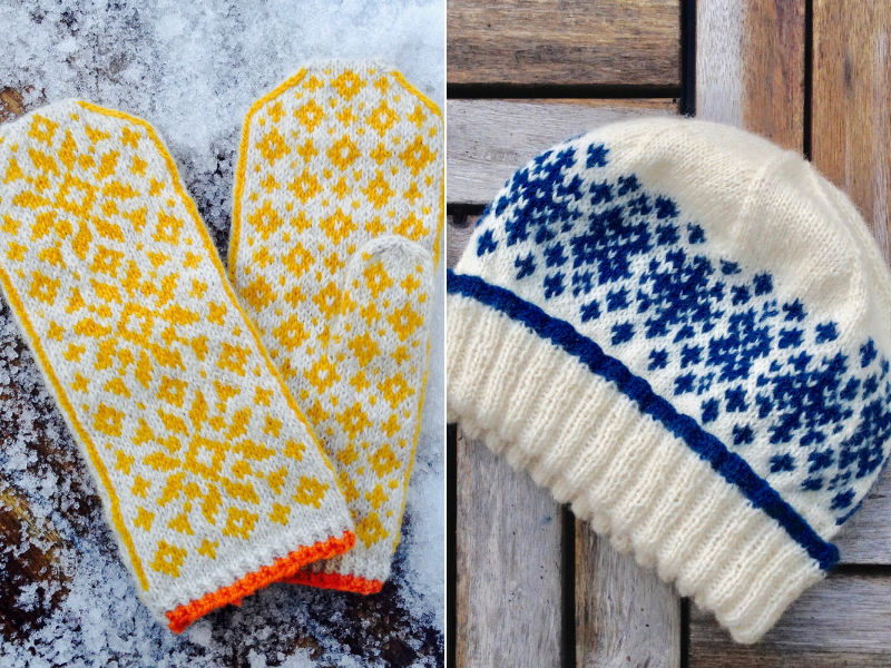 Norwegian Winter Accessories Free Knitting Patterns (With ...