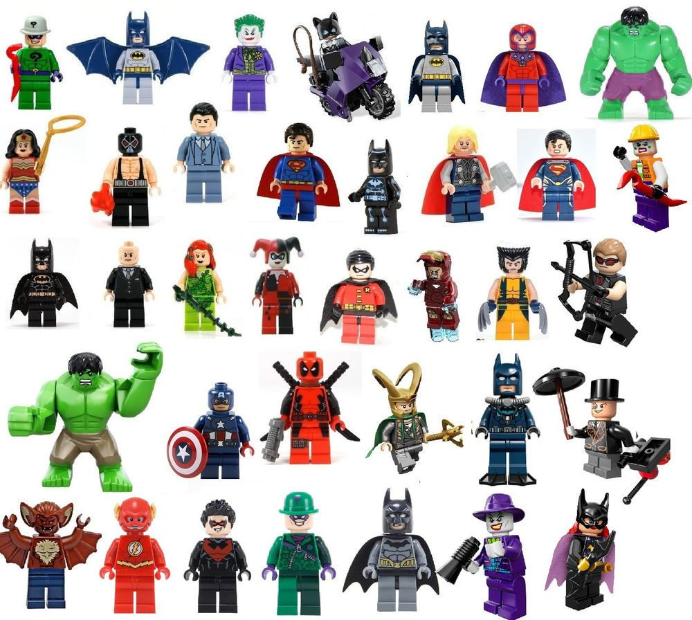 Lego superheroes | Lego Marvel | Pinterest