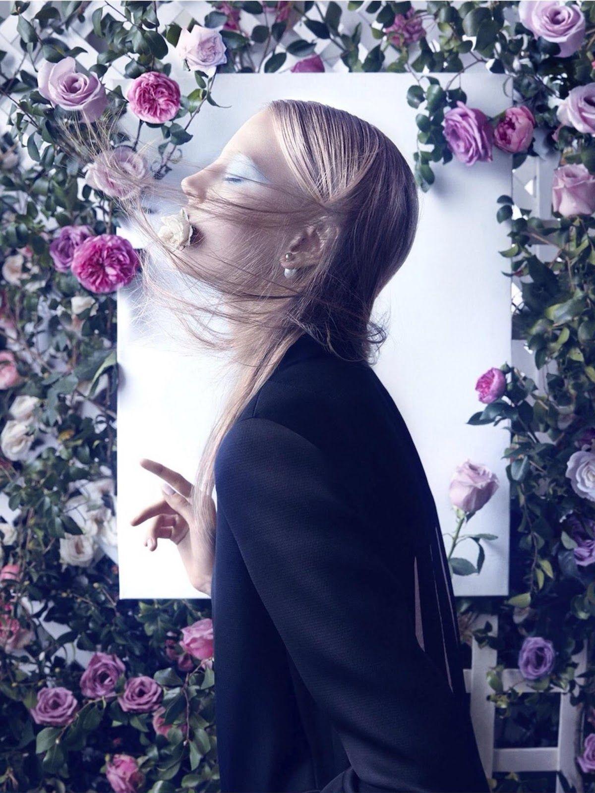 visual optimism; fashion editorials, shows, campaigns & more!: morning dew: elisabeth erm by camilla akrans for dior magazine #5 spring 2014...
