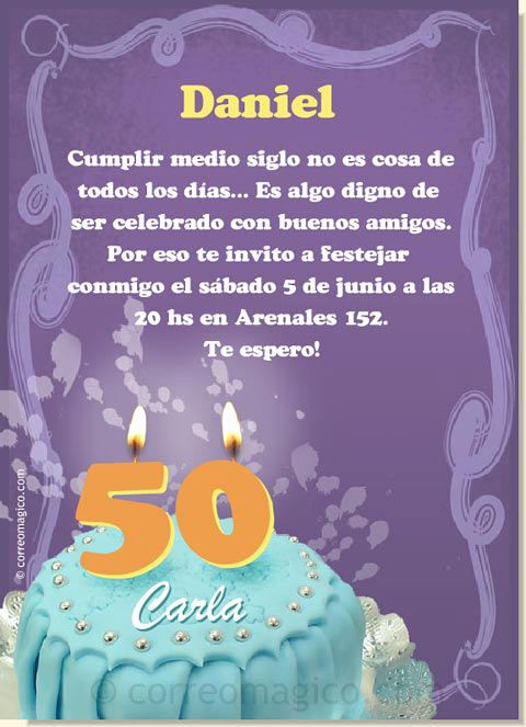 Invitaciones cumpleaños adulto + texto - Buscar con Google