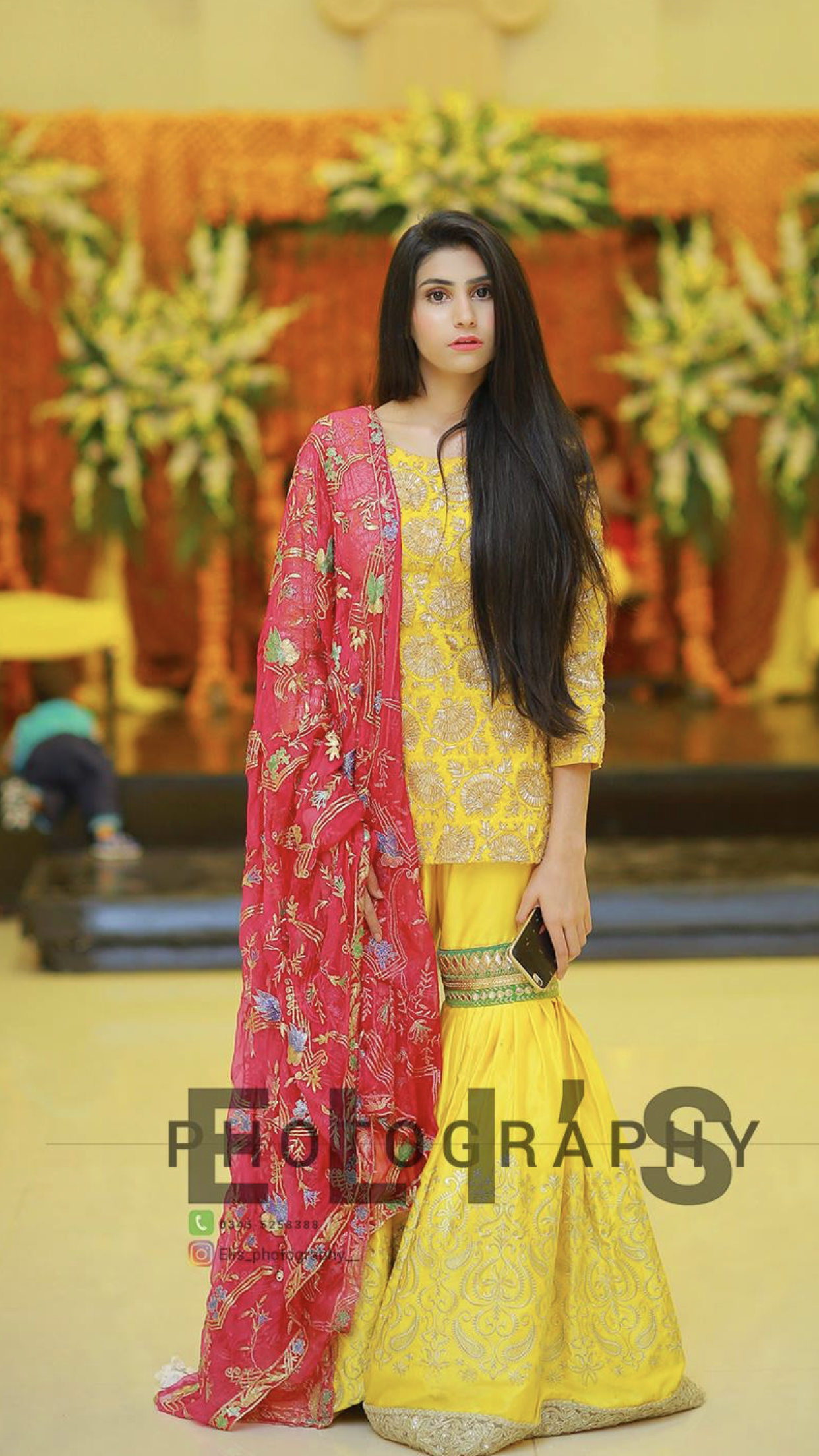 Mayun outfit inspo for brides sister