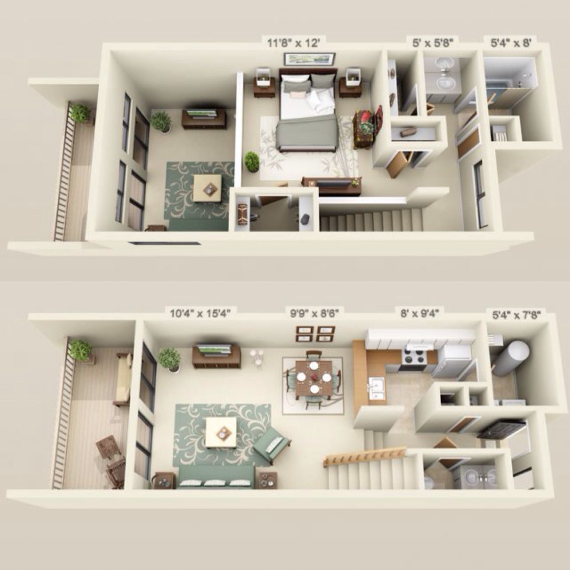 Gainesville Apartment Floor Plans