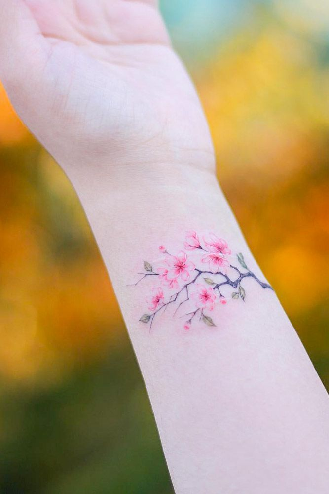 Tender Selection Of Cherry Blossom Tattoo For Your Inspiration Blossom Tree Tattoo Cherry Tree Tattoos Cherry Blossom Tree Tattoo