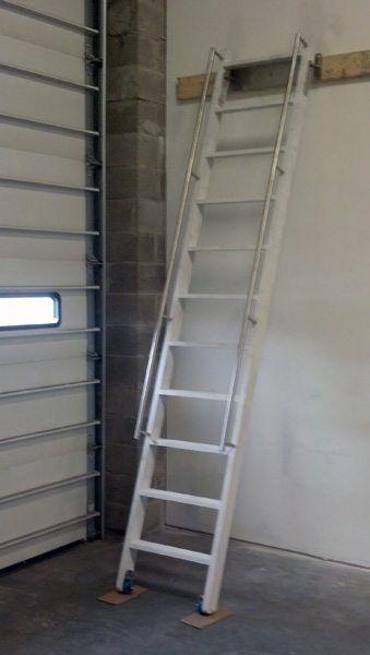 Custom Ship Ladders, Narrow U0026 Alternating Tread Stairs In NYC U0026 CT | Acadia  Stairs