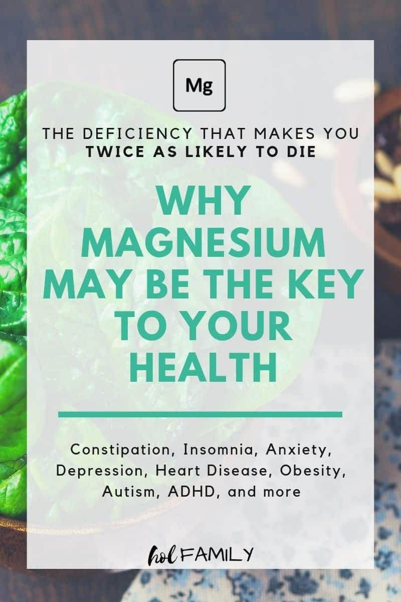 Magnesium is one of the most common deficiencies plaguing our health 75 of Americans arent getting enough magnesium and out health is suffering because of it Learn all ab...