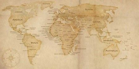 Worldmap by eliskan 450x223 20 more world map source files psd eps ai svg png gumiabroncs Gallery