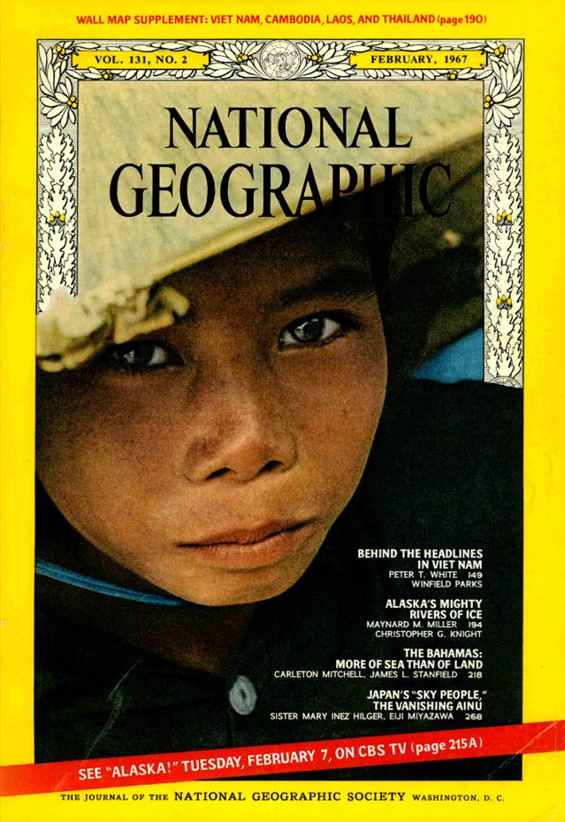 National Geographic February 1967 National Geographic Covers