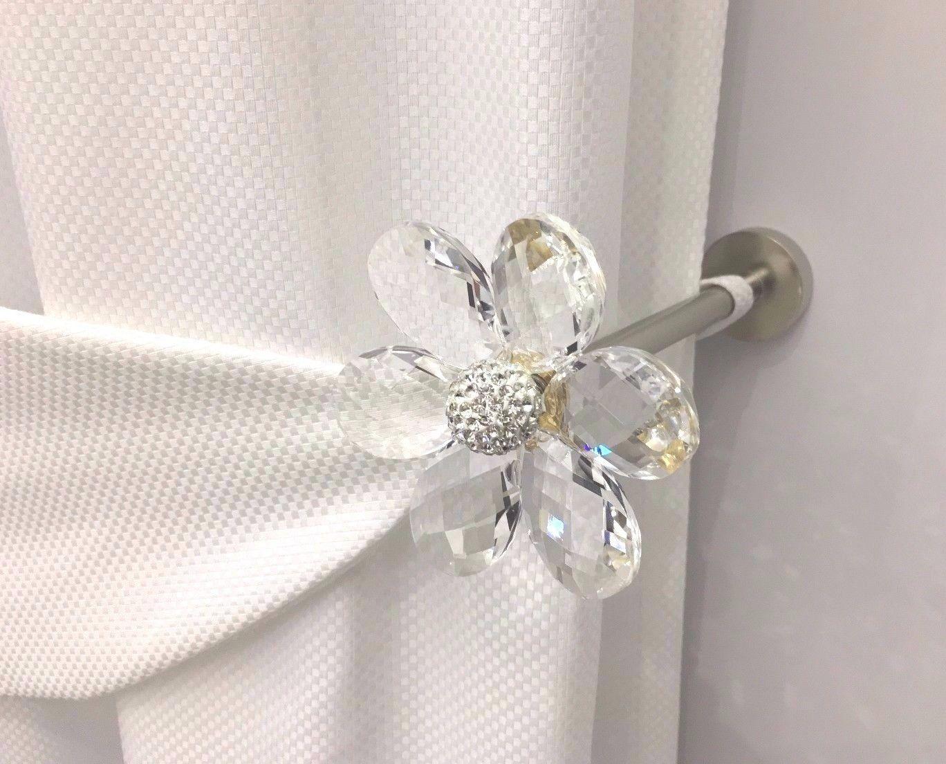 Accessori Da Bagno Con Swarovski : Fermatenda cristallo swarovski fermatende accessori tenda embrasse