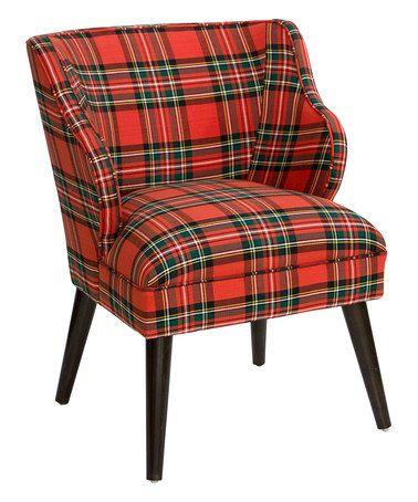 Ancient Stewart Red Modern Chair #zulily #zulilyfinds