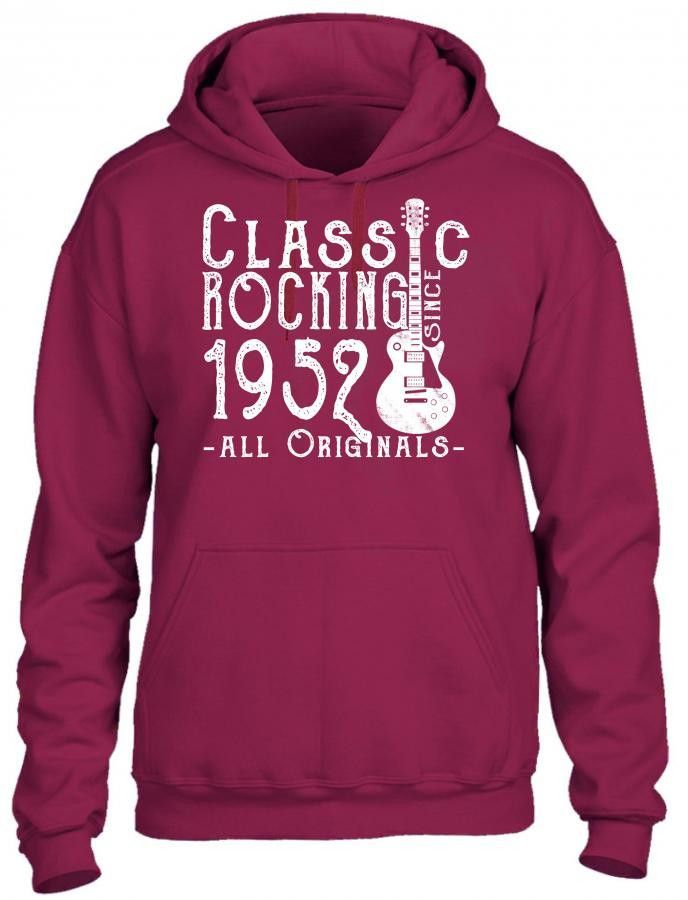 rocking since 1952 copy HOODIE