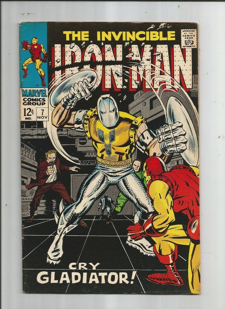 IRON MAN #7 Fantastic Grade 7.0 Silver Age Marvel find! http://r.ebay.com/5is1ID