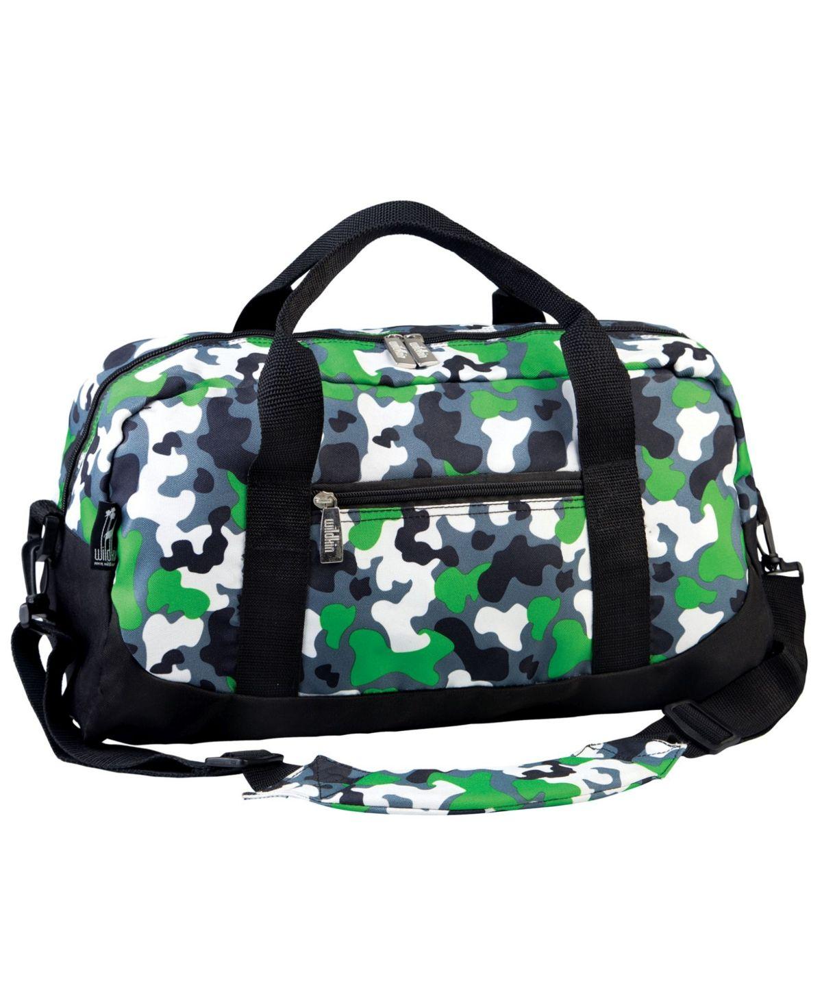Green Camo Messenger Bag Personalized