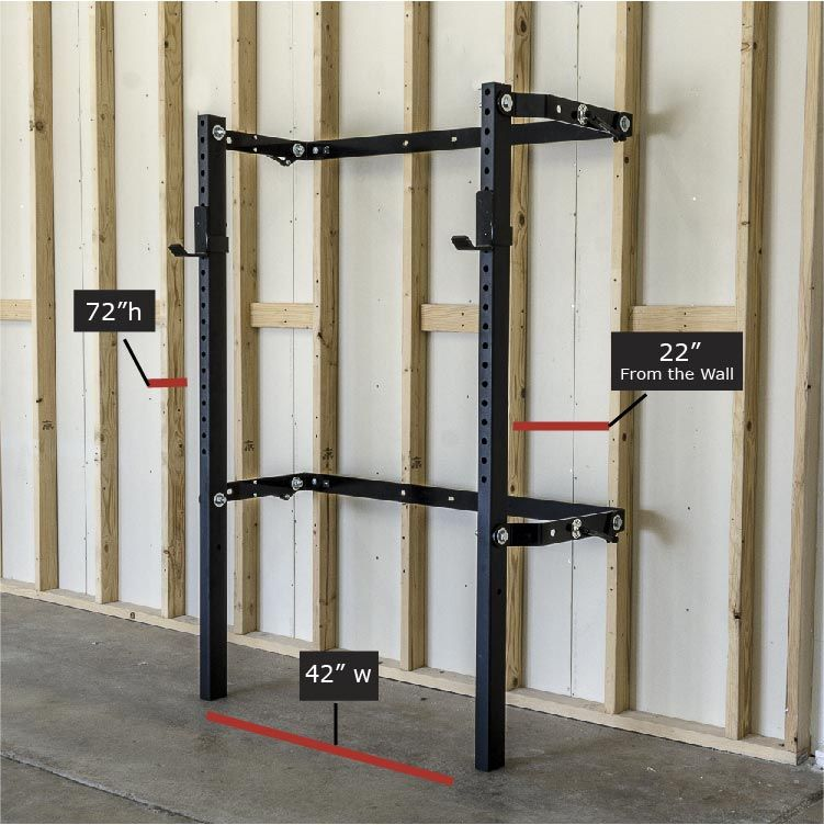 Design Your Own Home Gym: Foldable Squat Rack