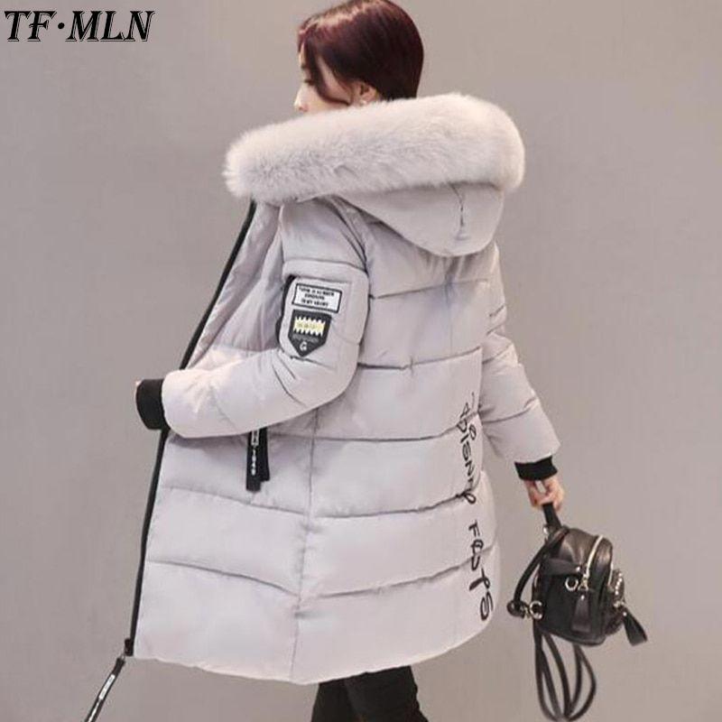 e25466c1d $49.7 - Cool Warm Women Winter Jacket Plus Size 2017 Fashion Womens ...
