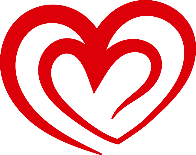 Curved Red Heart Outline Png Image Download Heart Outline Heart Outline Png Outline