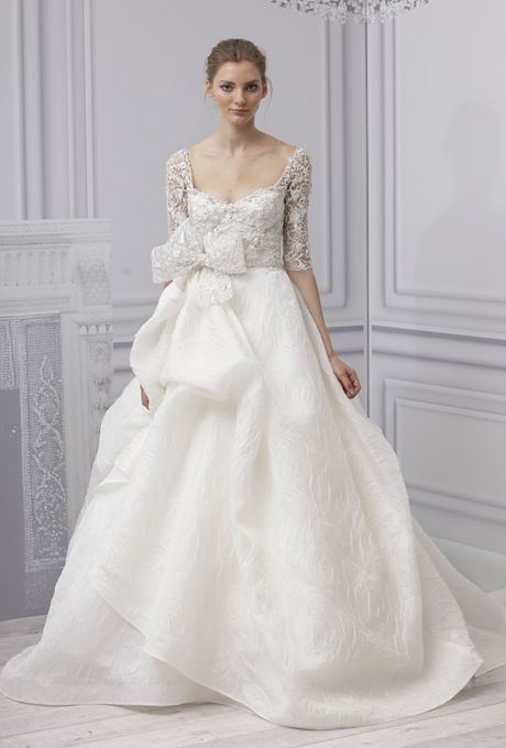 4510385a323 Brides: Monique Lhuillier - Spring 2013 : I adore this, and it's only seven  thousand dollars.