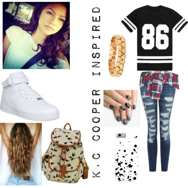 K.C Cooper Inspired Outfit~K.C Undercover