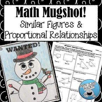 Similar Figures Proportional Relationships Math Mugshot