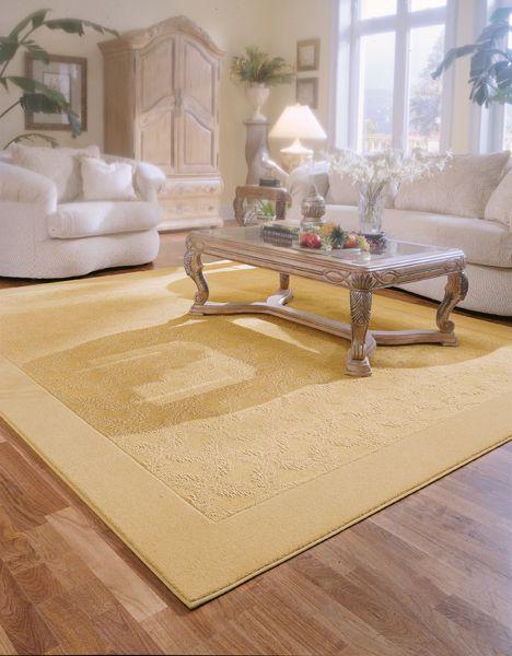 Yellow Area Rug With Light Wood Floor Light Wood Floors