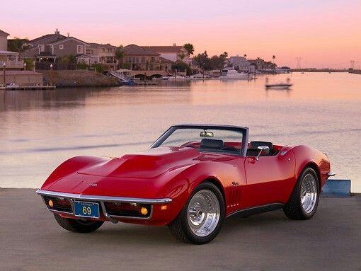 Corvette Stingray 1969 Red (With images)   Corvette stingray 1969 ...