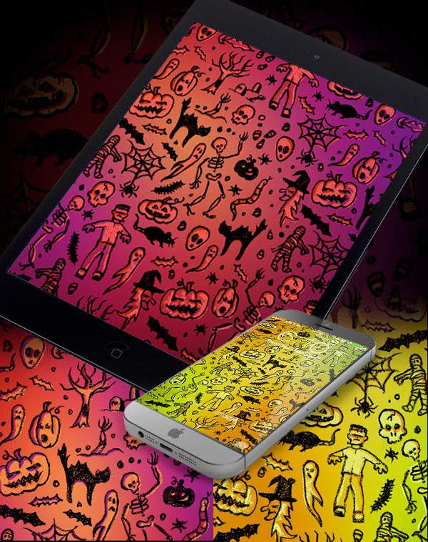 Free Halloween phone wallpapers. Download them now! I http://www.link-creative.com/halloween-smartphone-wallpaper/