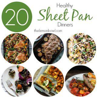 Twenty Healthy Sheet Pan Dinner Recipes - The Lemon Bowl