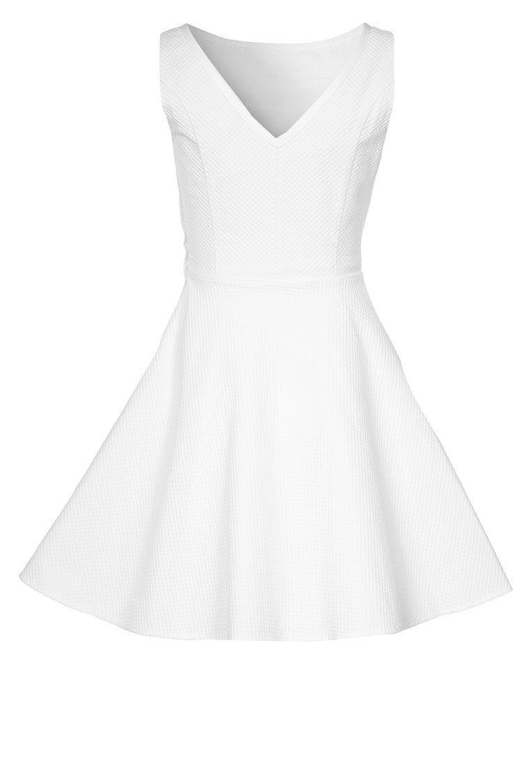 NAF NAF - Cocktailkleid / festliches Kleid - blanc   Klamotten ...