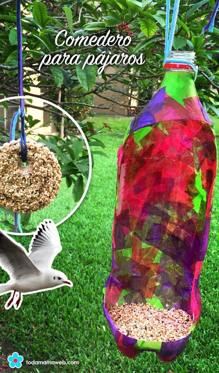 Actividad para niños: Comedero para pájaros con materiales ...