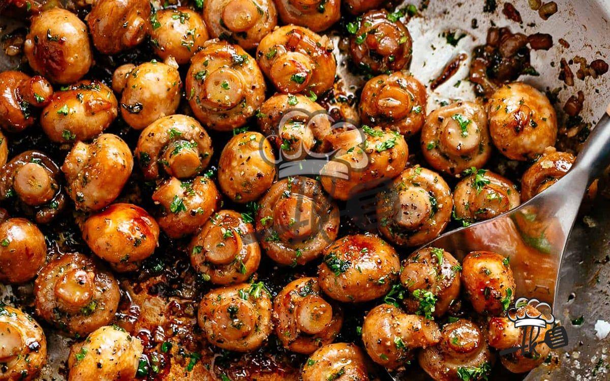Photo of Garlic mushrooms