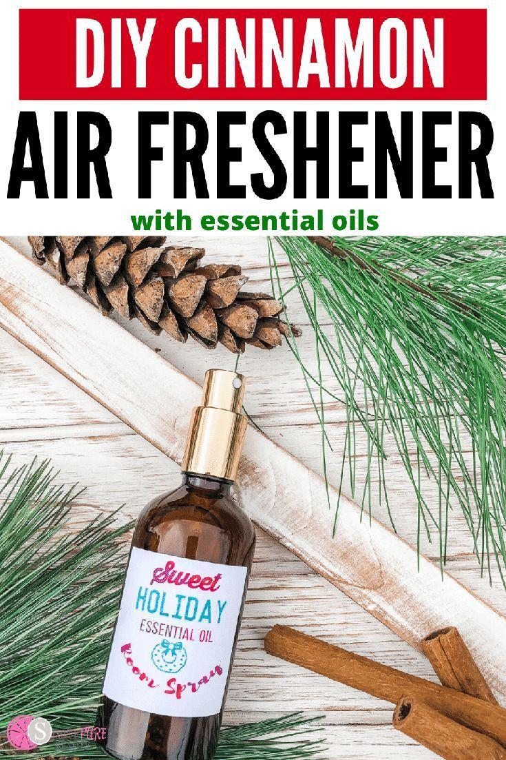 Diy cinnamon air freshener with essential oils diy