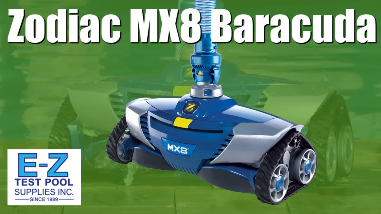 Zodiac Baracuda Mx8 Pool Cleaner Inground Suction Side Pool Cleaner Video Video In 2020 With Videos Pool Cleaning Robotic Pool Cleaner