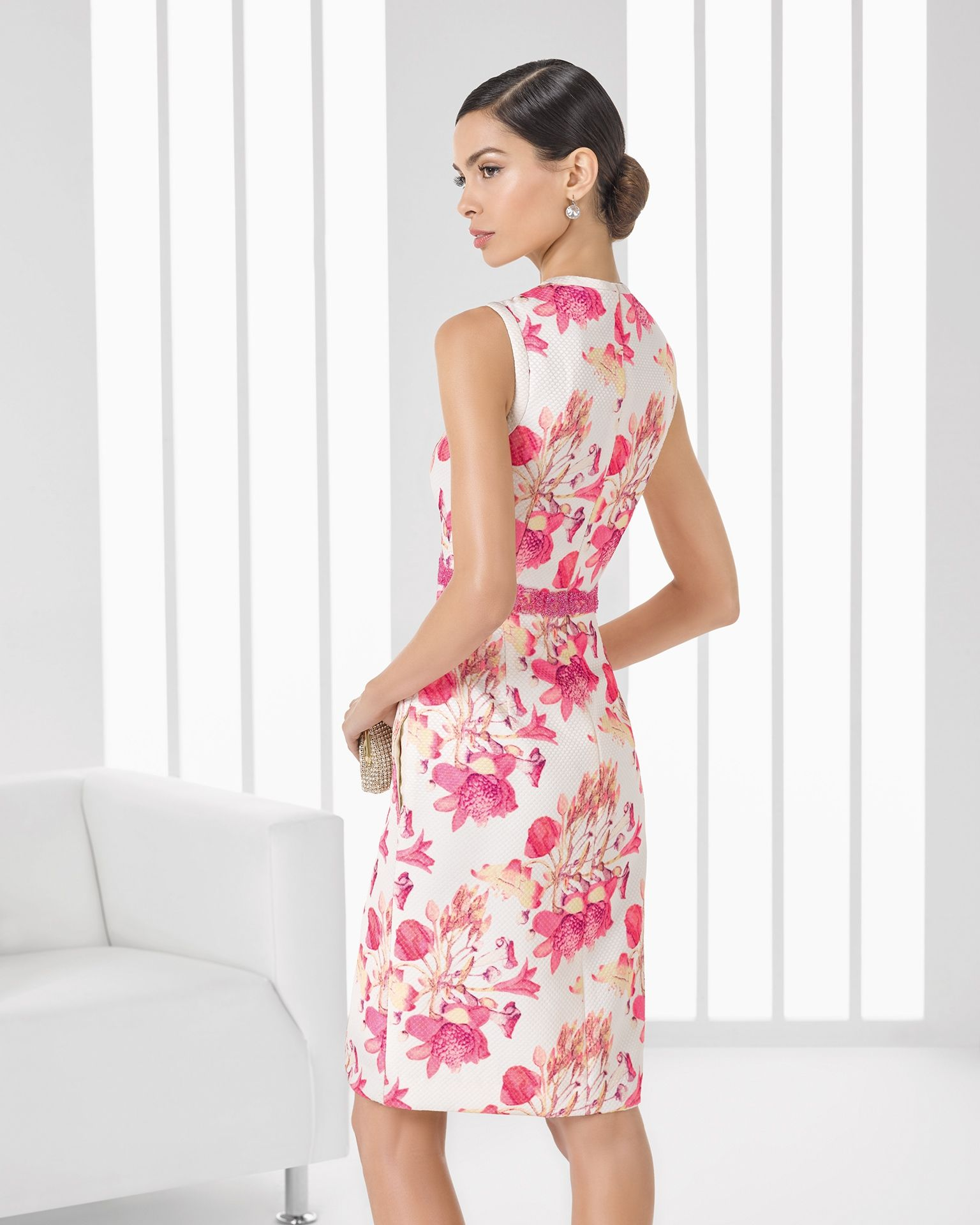 Fantástico Vestidos De Cóctel Simples Friso - Colección de Vestidos ...