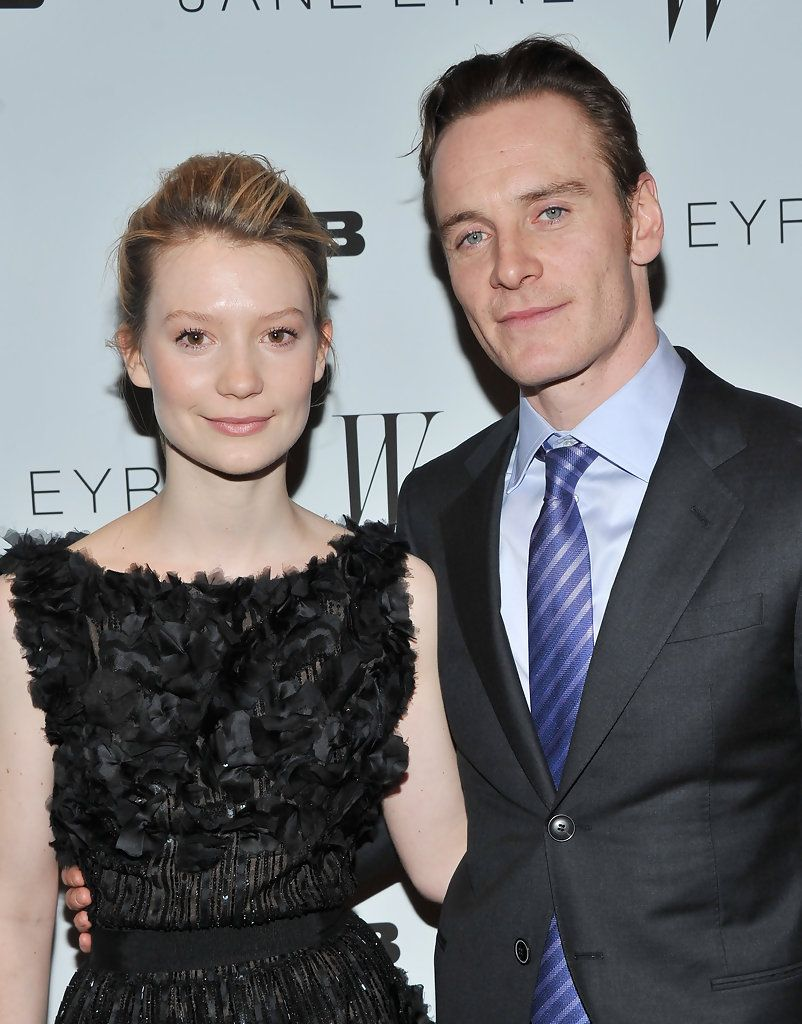 Mia Wasikowska and Michael Fassbender are stunning.