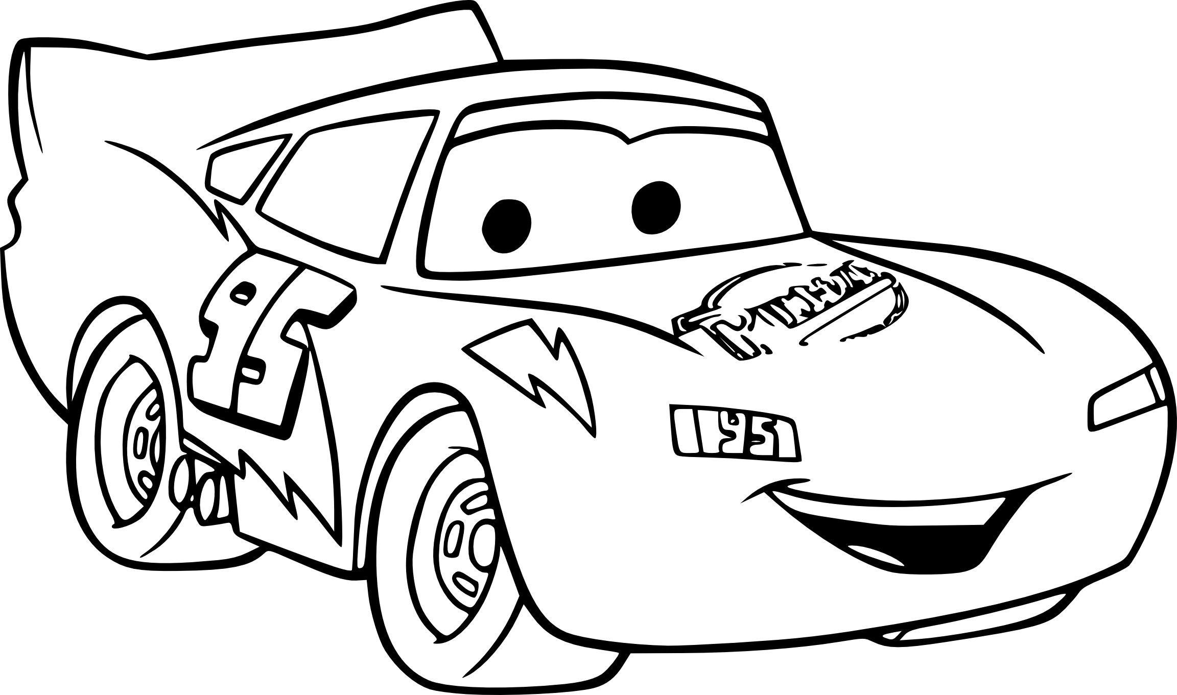 Dessin A Colorier Cars Cars Coloring Pages Disney