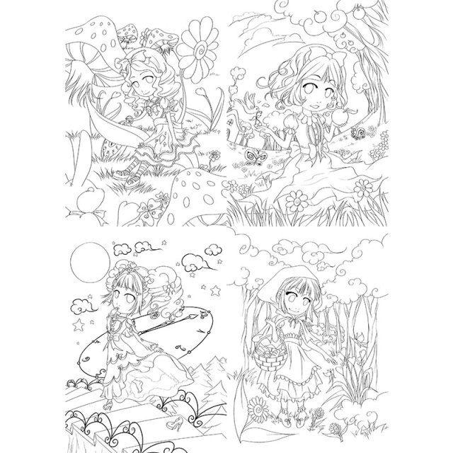 Goodies Automne 2015 : coloriages : PACK Contes de fée