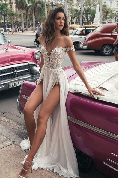 Günstige maßgeschneiderte Abendkleid schickes Abendkleid