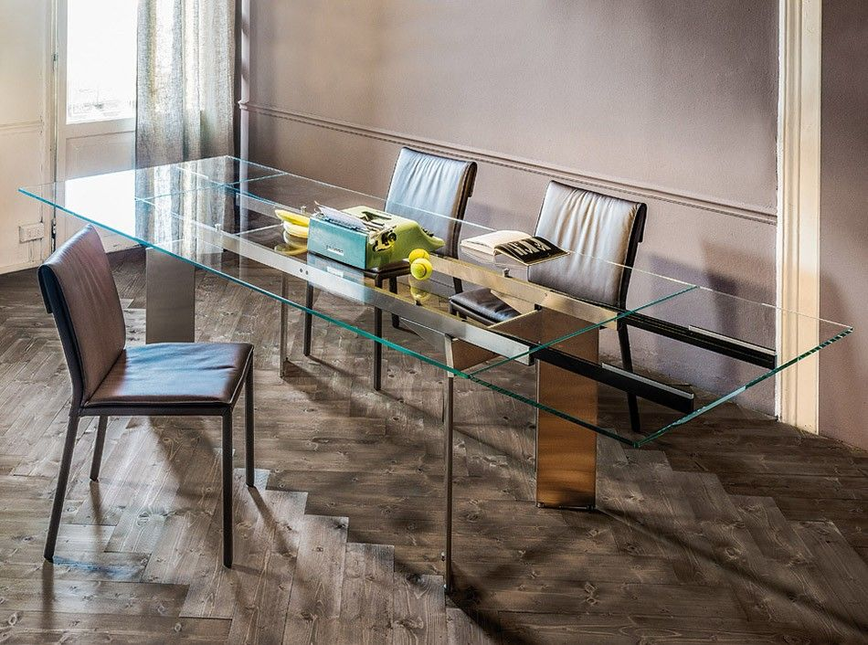 Extendable Dining Table Elan Drive by Cattelan Italia - $3,525.00 ...