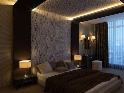 10 lindos dormitorios con techos falsos falsos techos for Cielorrasos de casas