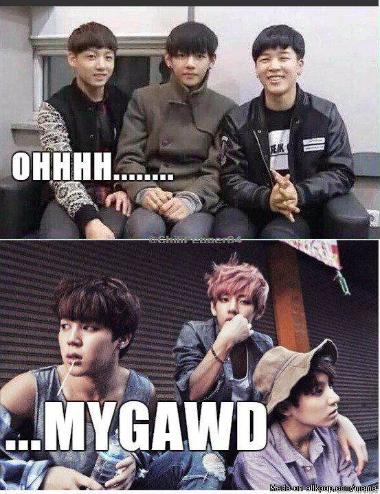 I wonder what kind of Puberty hit the maknaes.