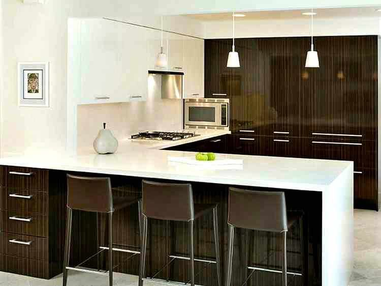 cocina-con-barra-americana.jpg (750×562) | DECORACIÓN DE INTERIORES ...